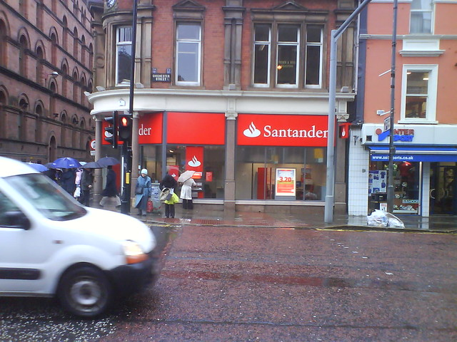 Oficina del banco santander en belfast flickr photo for Banco santander oficinas