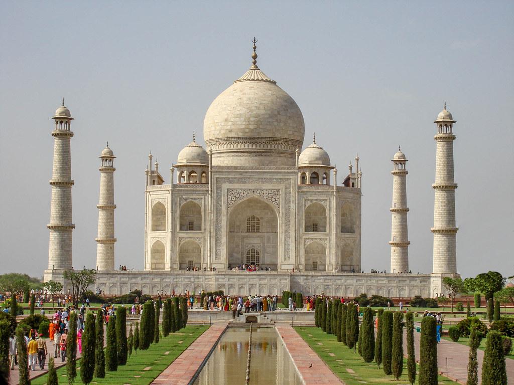 Taj Mahal The Taj Mahal Is A Mausoleum Located In Agra
