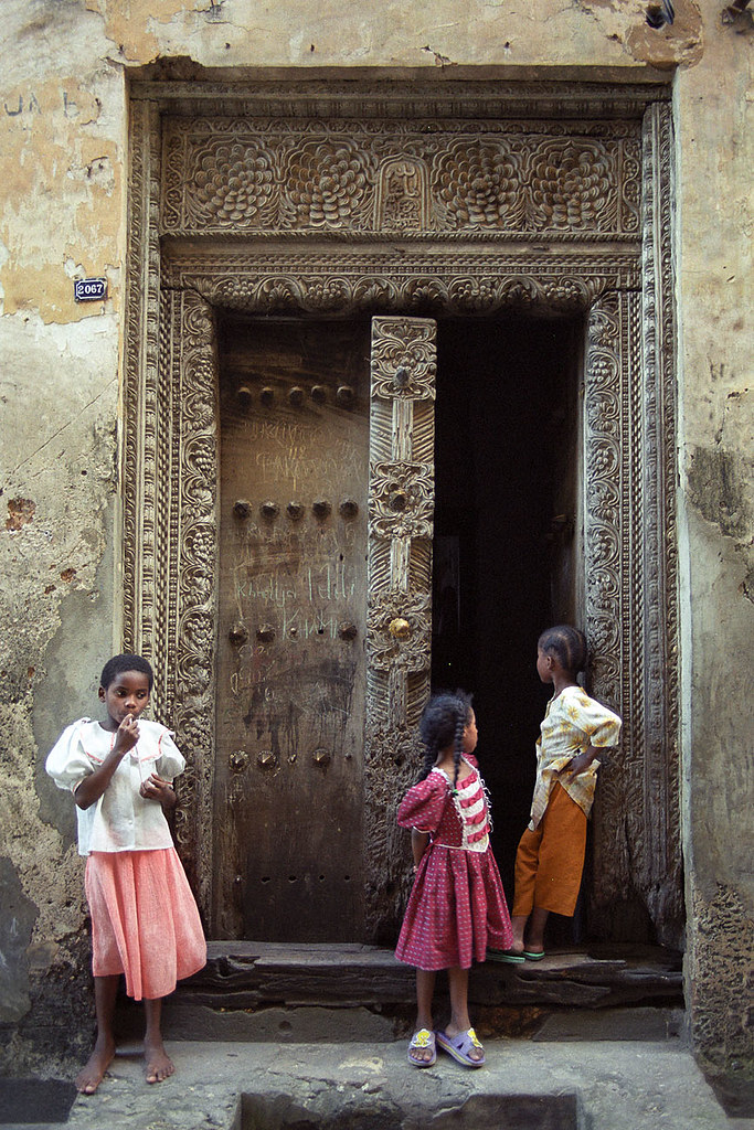 Seyffert Zanzibar doors (9) | by © Sam.Seyffert & Zanzibar doors (9) | See large on black Perhaps the most str\u2026 | Flickr