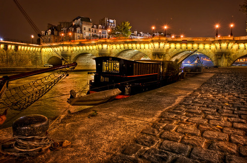 An evening on the Seine in Paris | by MDSimages.com