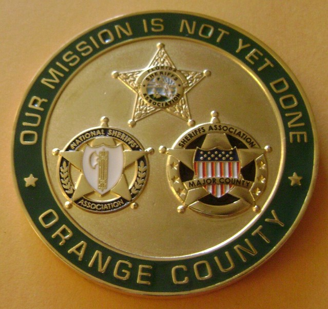 Orange county sheriff 39 s office ocso coin florida - Orange county sheriffs office florida ...