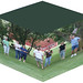 Bocce Ball on a Cube