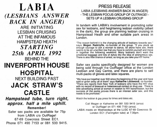 flyer-labia | by outragelondon