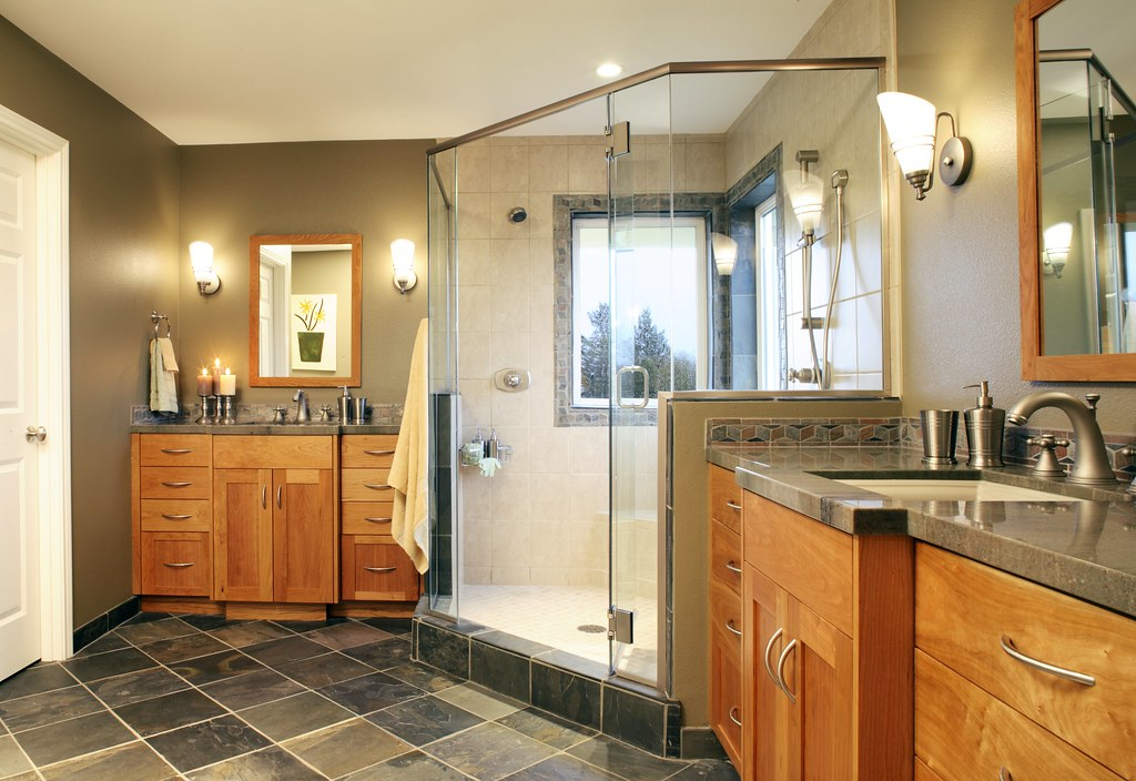 Craftsman Style Bathroom Images : Craftsman style master bathroom this was