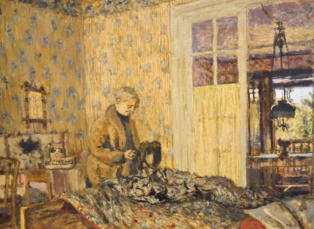 Edouard Vuillard Paintings Edouard Vuillard Interior on