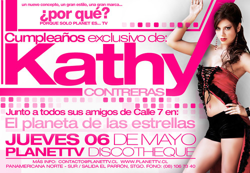 PLANETTV | Kathy Contreras | by www.albingraphics.cl  @albingraphics
