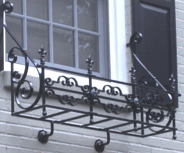 ... Ornate Wrought Iron Window Box | By Iron Railings Pittsburgh