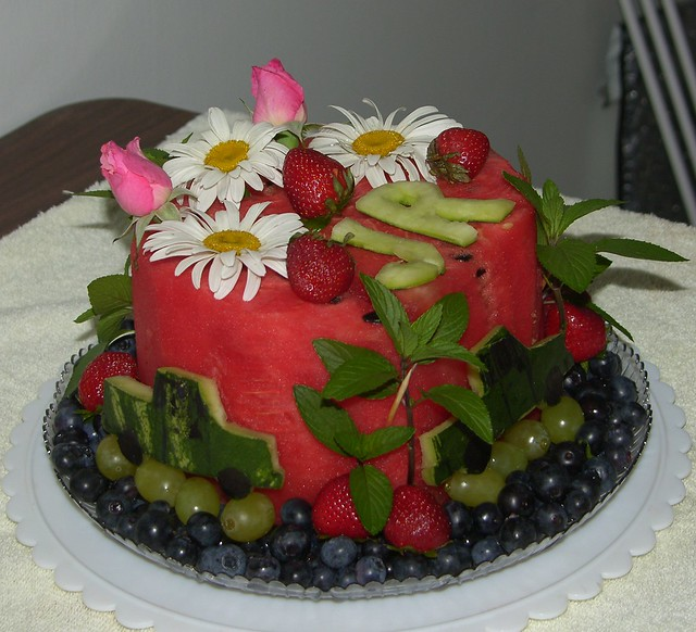Watermelon Birthday Cake photo 2   This is one of my ...