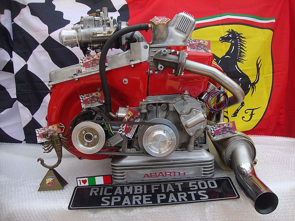Fiat 500 Abarth 50 Hp Engine From Ricambi Fiat 500 Spare P