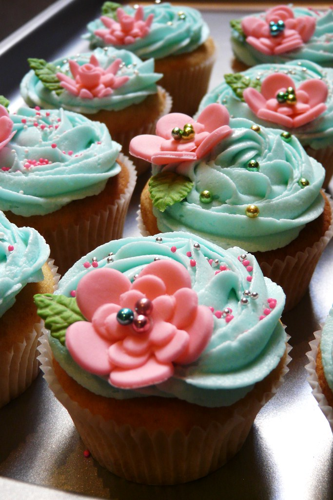 Flower Baby Cake Baby Shower Lace