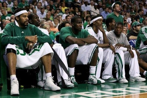 sad celtics bench | by basketbawful