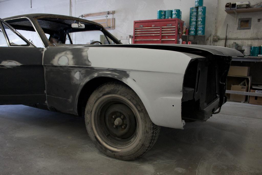 Car Primer Paint Job