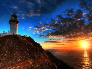 first light at cape byron | by paul bica