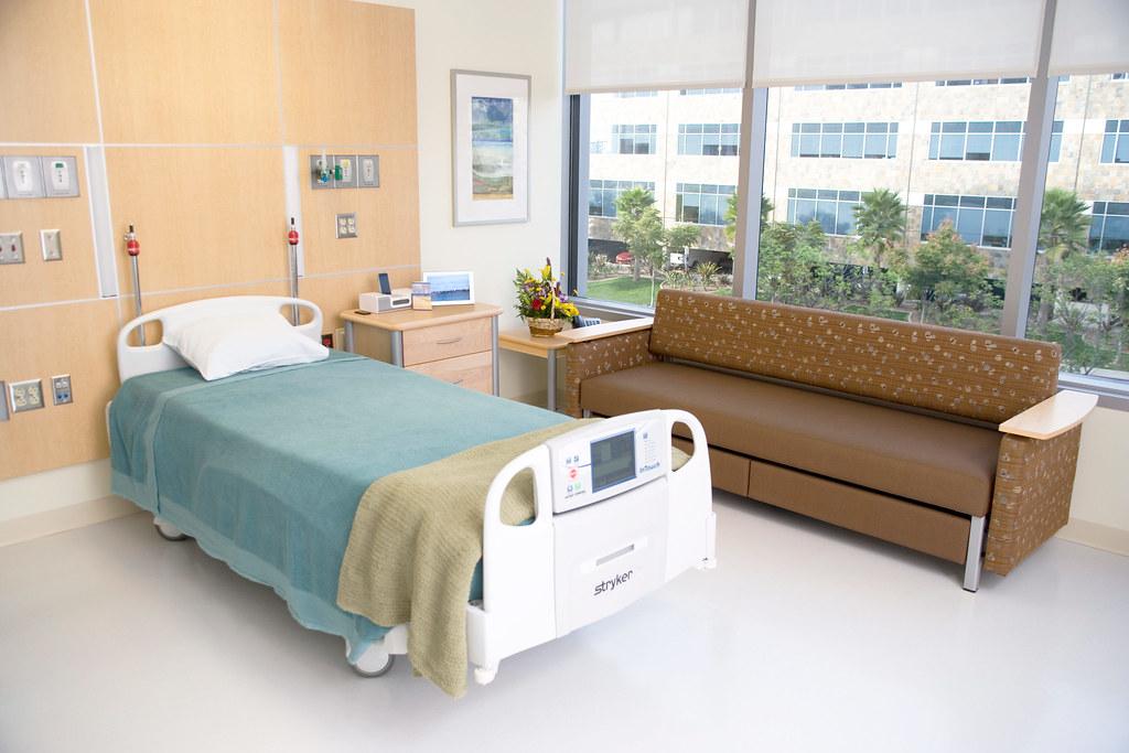 Private Hospital Room At Sharp Memorial Hospital At