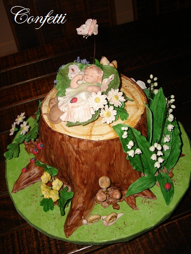 The Enchanted Forest   This is the last cake I made before ...