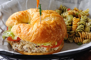Chicken Salad Croissant at Collage Catering | by ralph and jenny