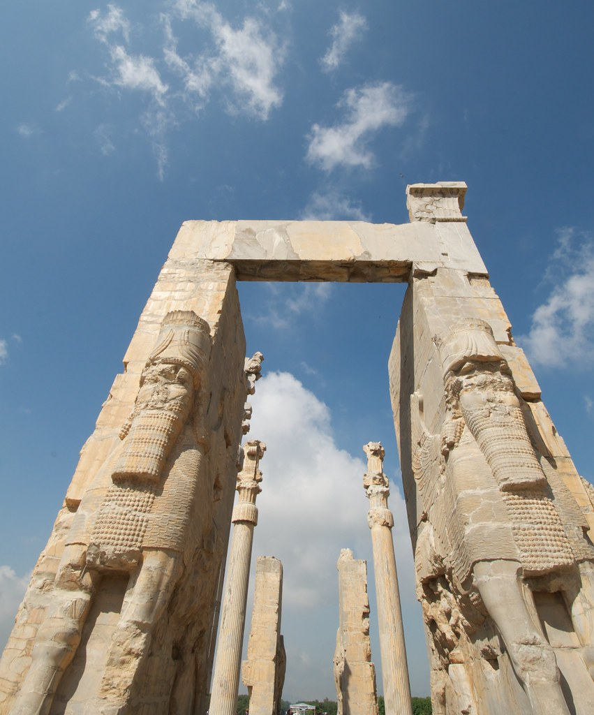 The Gate Of All Nations Persepolis Iran I Didn T Have