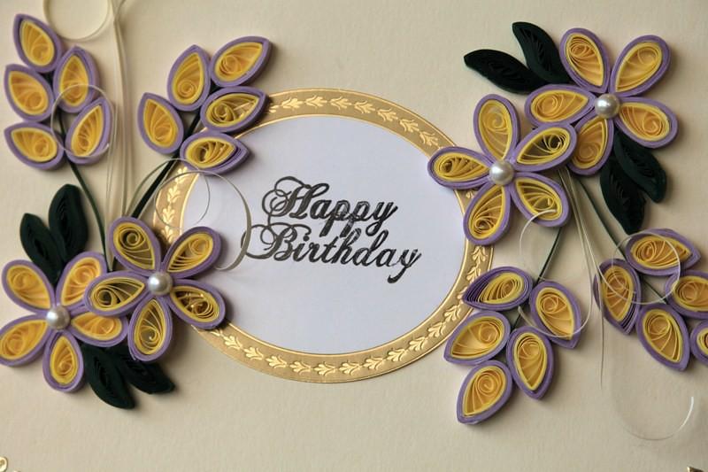 Elegant Handmade Birthday Greeting Card Judy – Latest Greeting Cards for Birthday