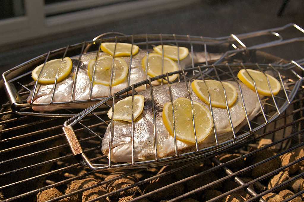 how to cook flathead on bbq