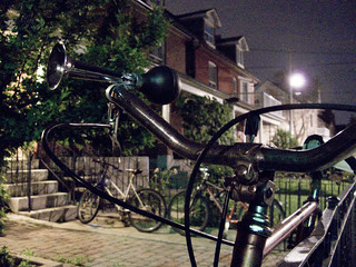 Horned bicycle | by andyscamera