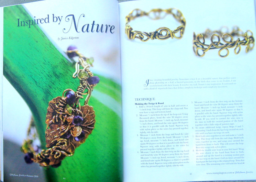Im published my enchanted twig and vine design was for Publish my design