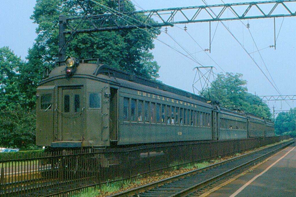 Short Hills Erie Lackawanna Commuter Train 1978 Flickr