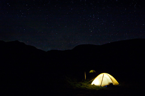 Camping under a Starry Sky | by Takeshi Sugimoto