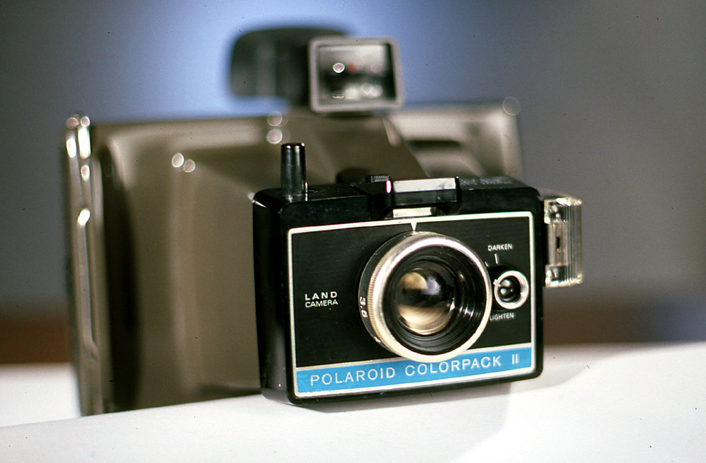 polaroid colorpack ii camera the tough durable and excell flickr. Black Bedroom Furniture Sets. Home Design Ideas