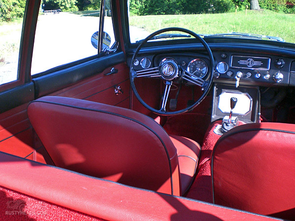 interior 1967 mgb gt as seen on flickr