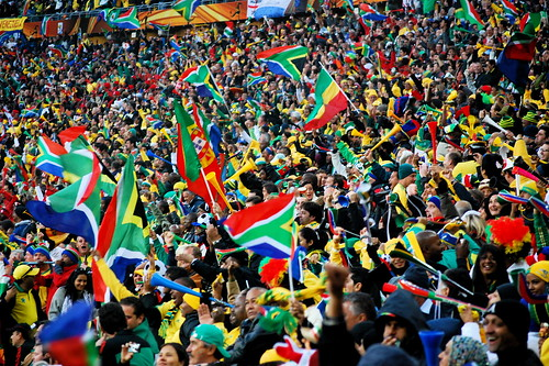South Africa Fans Celebration at Soccer City | by Celso Flores
