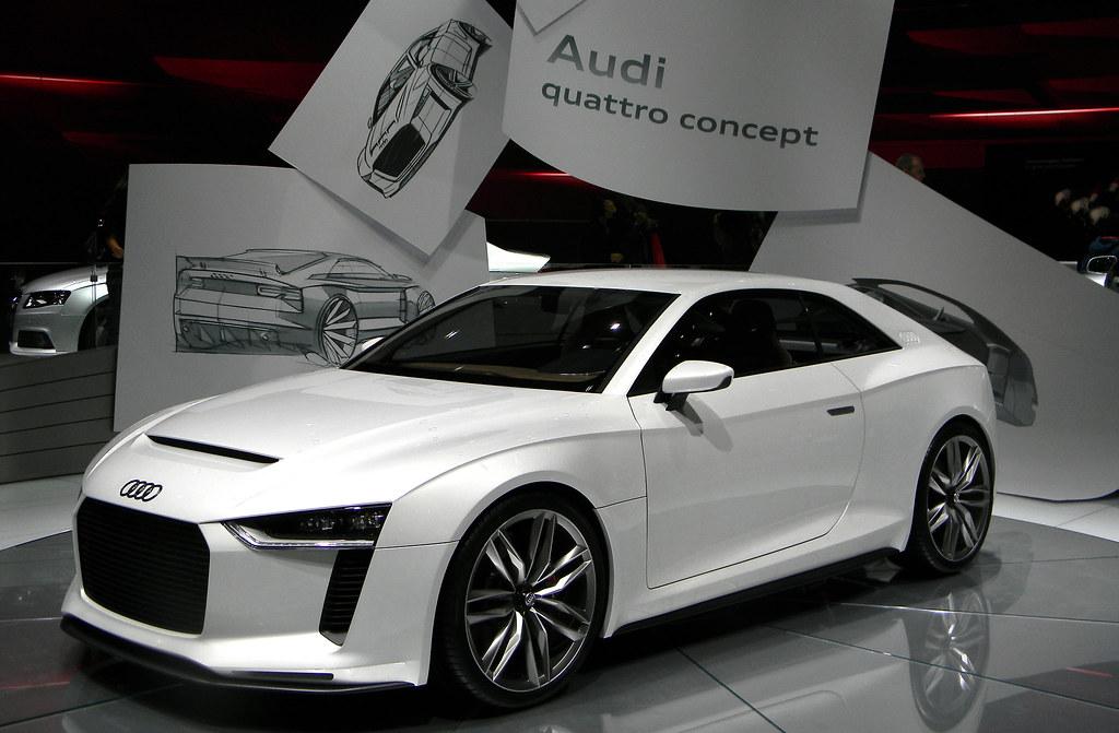 Concept Audi Quattro Paris Motor Show 2010 Audi Quattro Flickr