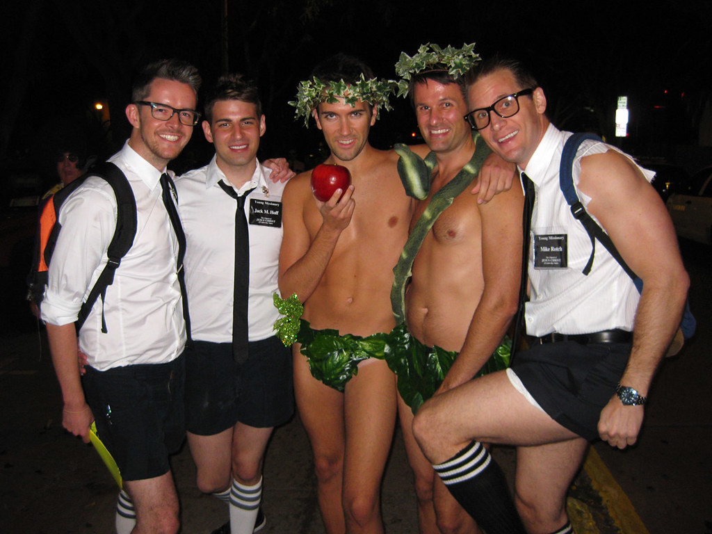 meet the mormons west hollywood halloween costume carnival flickr - Mormon Halloween Costumes