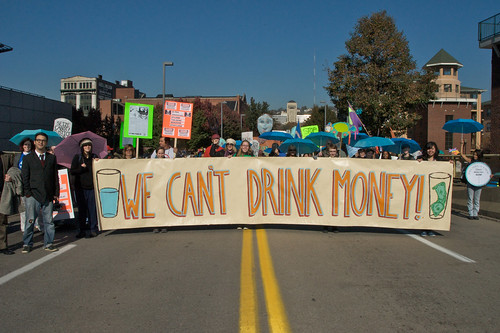 We Can't Drink Money | by Marcellus Protest