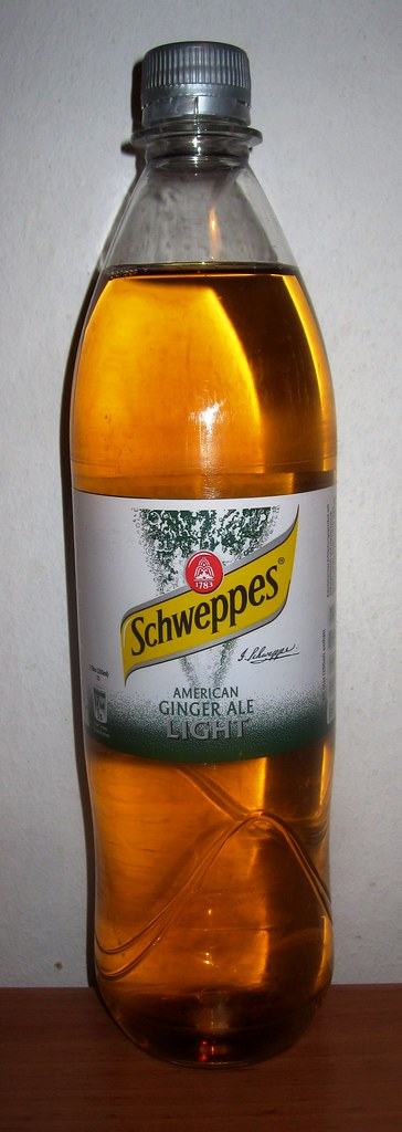 Schweppes American Ginger Ale Light Believe It Or Not