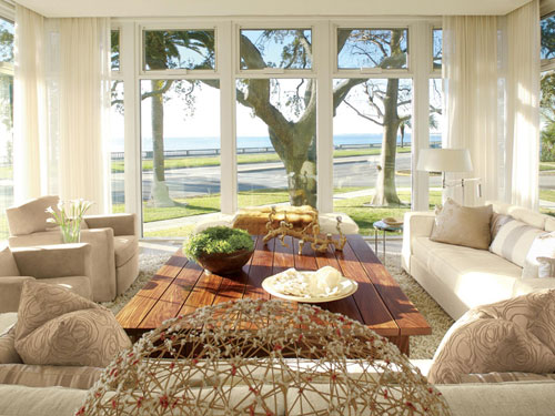 Modern design inspired by the 1960s veranda magazine Florida sunroom ideas