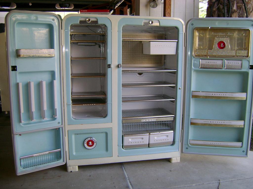 Inside 1955 Kelvinator 3 Kelvinator Foodaramas Available