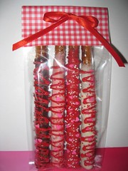 Valentines Day Chocolate Covered Pretzels 4 Pack Flickr