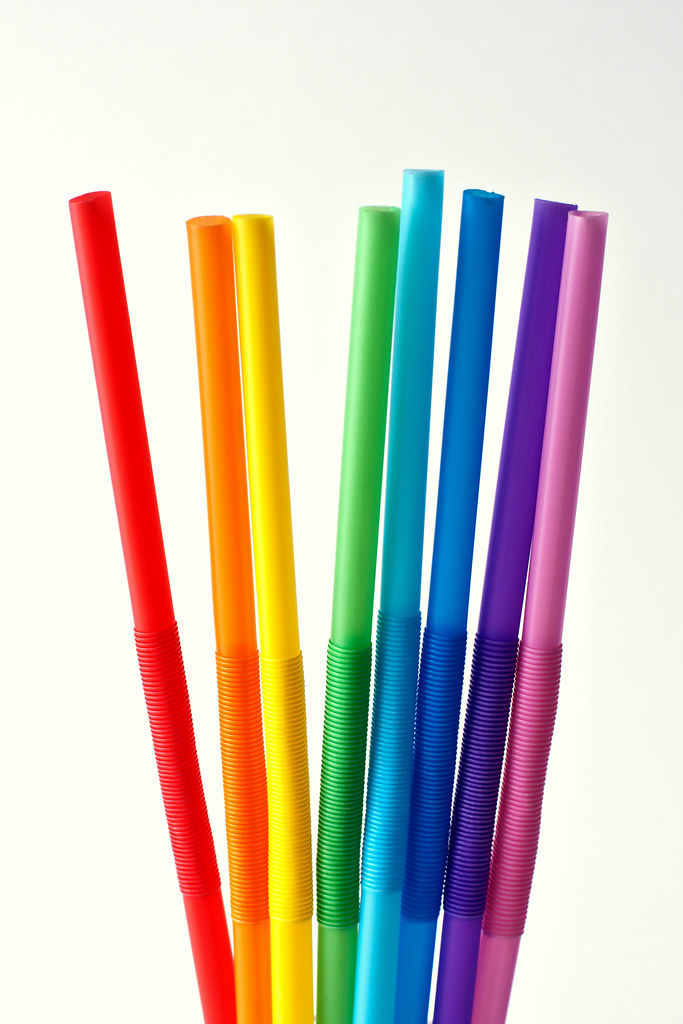 Colored Straw Crafts