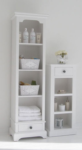 White Bathroom Furniture By New England Lifestyle