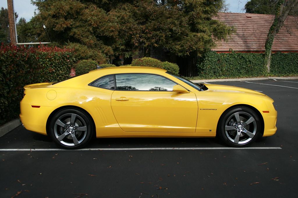 Yellow 2010 Camaro 2ss Rs Brian Shamblen Flickr
