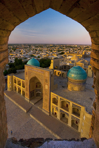 Mir-i-arab- Madrassah at sunset | by Michele F.