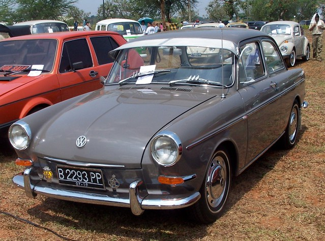 Volkswagen Type 3 Notchback Indonesian Say Vw Variant