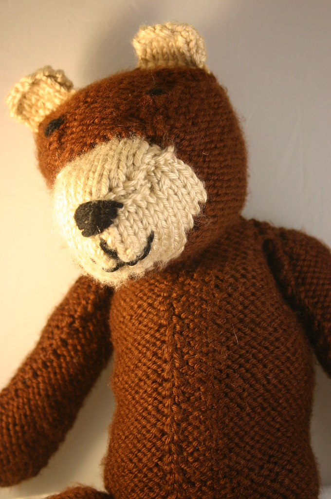 Knitted Bear (1)