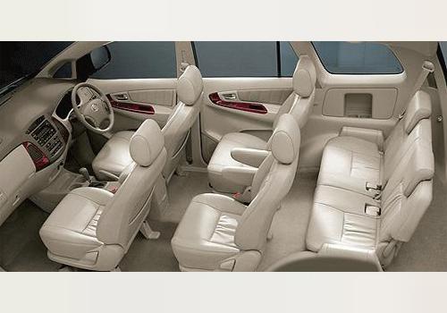 Toyota Innova 3rd Row Seat Interior Photo Toyota Innova