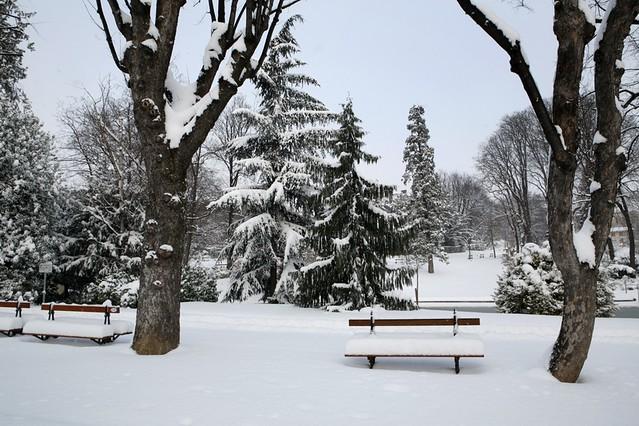 Fortes chutes de neige clermont ferrand photo ville de flickr - Aquilus piscine clermont ferrand ...