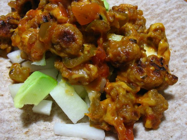 "Recipe Testing for ""Vegan Subsitutions"": Seitan Taco filli… 