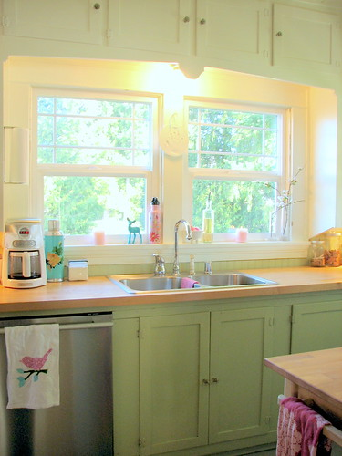 Cheerful Cottage Kitchen | by Trisha Brink Design