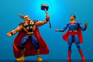 Thor vs. Superman (49/365) | by JD Hancock