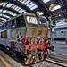 graffiti train in Milan