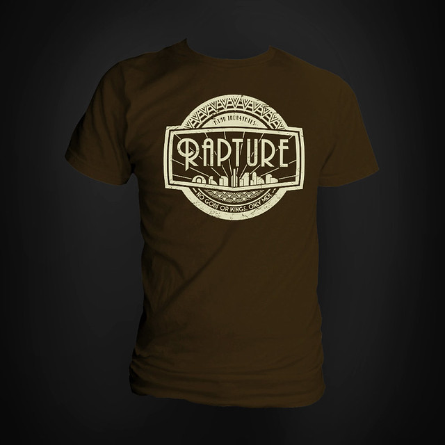 welcome to rapture bioshock t shirt and with the sweat flickr